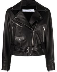 IRO Disthen Leather Jacket - Black