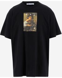 Off-White c/o Virgil Abloh T-shirts And Polos - Black