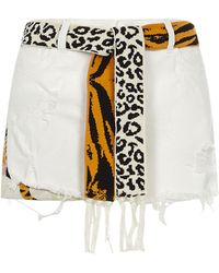 Laneus Shorts Cream - Natural