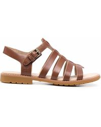 Timberland Low-heel Strappy Sandals - Brown