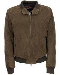 Stewart Nuvola - Vintage Suede Jacket - Brown