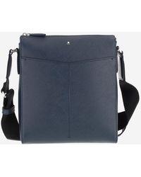 Montblanc Sartorial Small Envelope Shoulder Bag - Blue