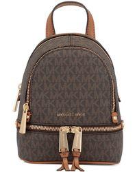 MICHAEL Michael Kors Rhea Mini Backpack - Brown