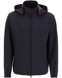 Z Zegna Hooded Jacket - Blue