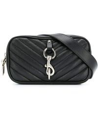Rebecca Minkoff Camera Belt Bag Pebble - Black