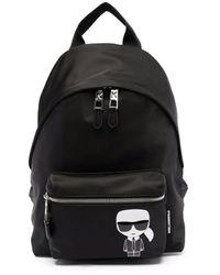 Karl Lagerfeld Backpacks - Black