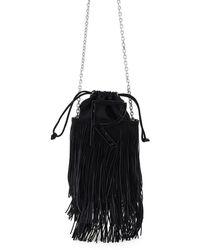 Roger Vivier Rv Fringe Mini Bag - Black