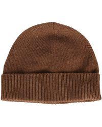 Maison Margiela Brown Wool-blend Beanie