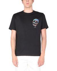 PS by Paul Smith Skull T-shirt - Black