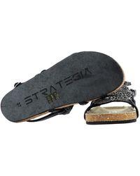 Strategia Other Materials Sandals - Black