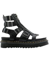 Dr. Martens Dr. Martens Women's 26561001 Black Leather Sandals