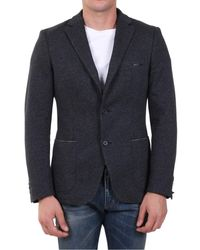 Tonello - Single-breasted Jacket Gray - Lyst