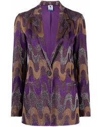 M Missoni Jackets Purple