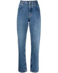 Loewe Anagram Pocket Denim Jeans - Blue