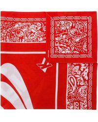 KENZO Dream Logo Scarf - Red
