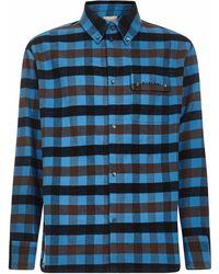 Buscemi Shirts Turquoise - Blue