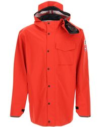 Y. Project X Golden Goose Nanaimo Hooded Jacket - Red