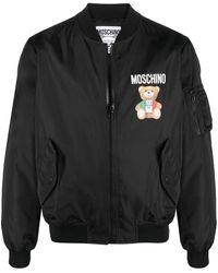 Moschino Coats Black