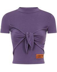 Heron Preston T-shirts And Polos Purple