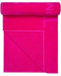 Tom Ford Velvet Beach Towel Bag - Pink