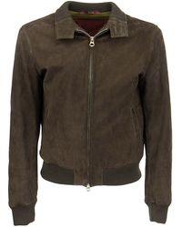 Stewart Jeff-chevrette - Vintage Suede Jacket - Brown