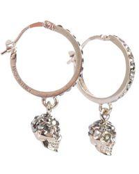 """Alexander McQueen """"skulls"""" Earrings - Metallic"""