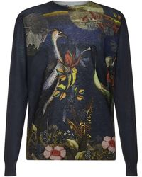 Etro Jumpers Blue