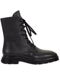 Stuart Weitzman - Mckenzee Laced Boot - Lyst