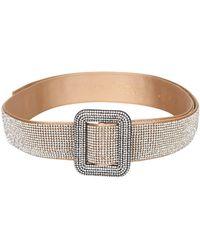 Benedetta Bruzziches Embellished Belt - Metallic