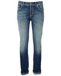 Dondup Mius - Slim Jeans - Blue