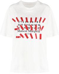 Maison Margiela Logo-print T-shirt - White