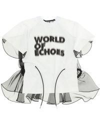 Sacai Francois K T-shirt 1 Cotton - White