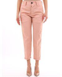 PT01 Pink Chino Pants