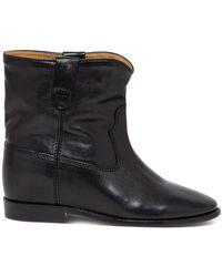 Isabel Marant Crisi Ankle Boots - Black