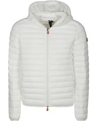 Save The Duck Coats - White