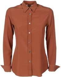 Caliban Shirts Brown