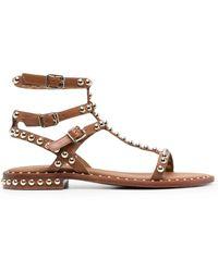Ash Sandals Beige - Natural