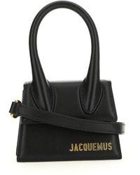 Jacquemus Satchel & Cross Body - Black