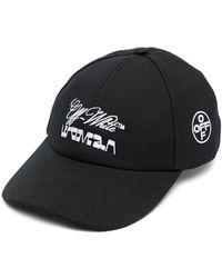 Off-White c/o Virgil Abloh Off White Hats Black