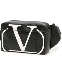 Valentino Garavani Go Logo Beltbag - Black
