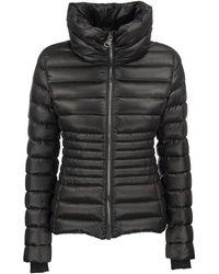 Colmar Friendly - Shiny Down Jacket With High Collar - Black