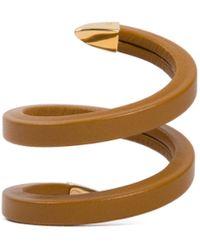 Bottega Veneta Cuff Bracelet - Metallic