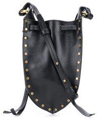 Isabel Marant Radji Mini Bag - Black