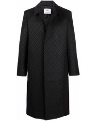 Marine Serre Coats Black