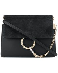 Chloé Faye New Mini Bag Black