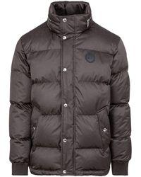 Berluti Signature Down Jacket Wintercoat - Brown