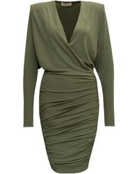 Alexandre Vauthier - Draped Mini Dress - Lyst