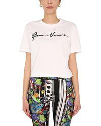 Versace Crew Neck T-shirt - Multicolour