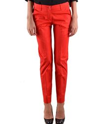 Armani Jeans Trousers - Red