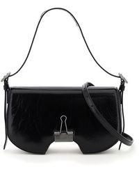 Off-White c/o Virgil Abloh Swiss Flap Bag Binder Clip - Black